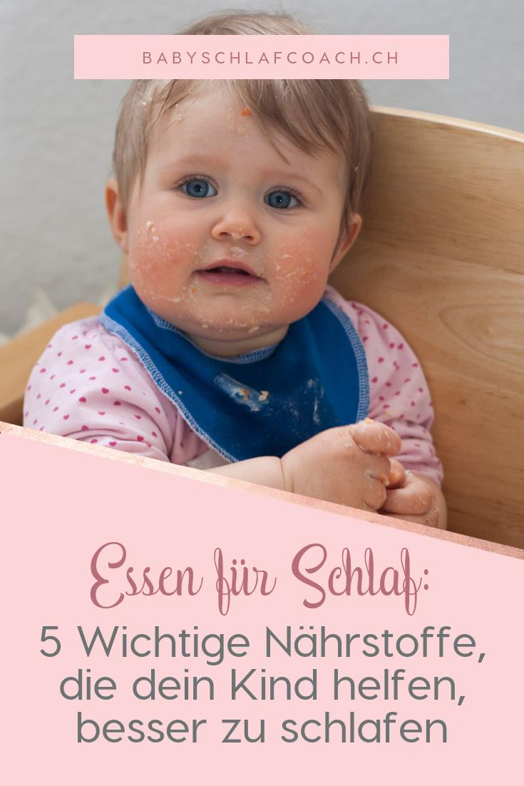 Erfahren Sie die 5 wichtige Nährstoffe, die Ihr Kind helfen besser zu schlafen.