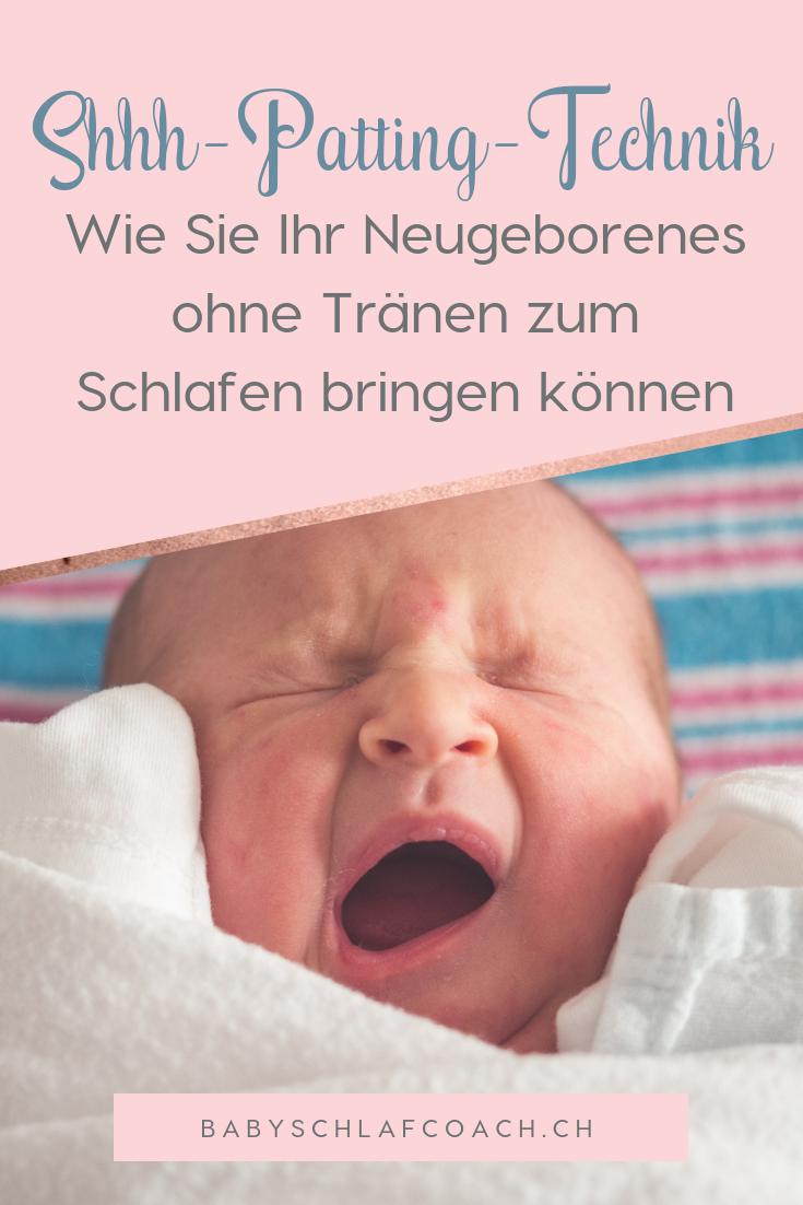 Lernen Sie, wie Sie Ihr Neugeborenes ohne Tränen zum Schlafen bringen können.