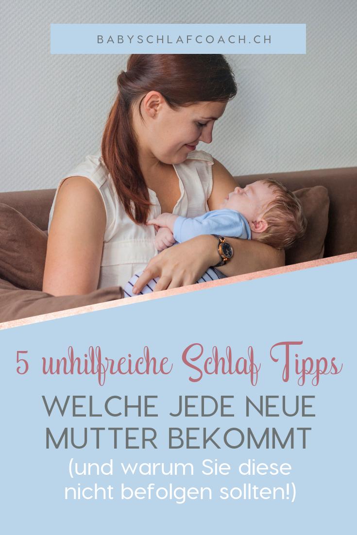 """Diese """"hilfreiche"""" Schlaf Tipps hat schon jede neue mutter bekommen. Aber sind die wirklich hilfreich? Klicke durch und finde heraus, welche gut gemeinte Tipps über das Schlaf deines Babys du lieber nicht wahrnehmen solltest."""