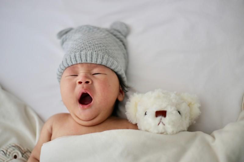 6 gute Schlafgewohnheiten für besseren Baby Schlaf