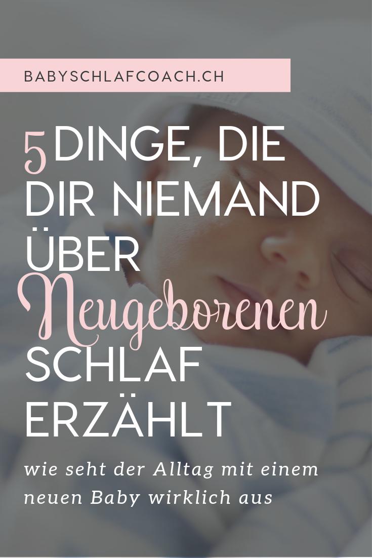 Ich wünsche ich hätte all das gewusst bevor mein Baby auf der Welt kam. Diese 5 Dinge sollte jede neue Mutter über Neugeborenen Schlaf wissen.