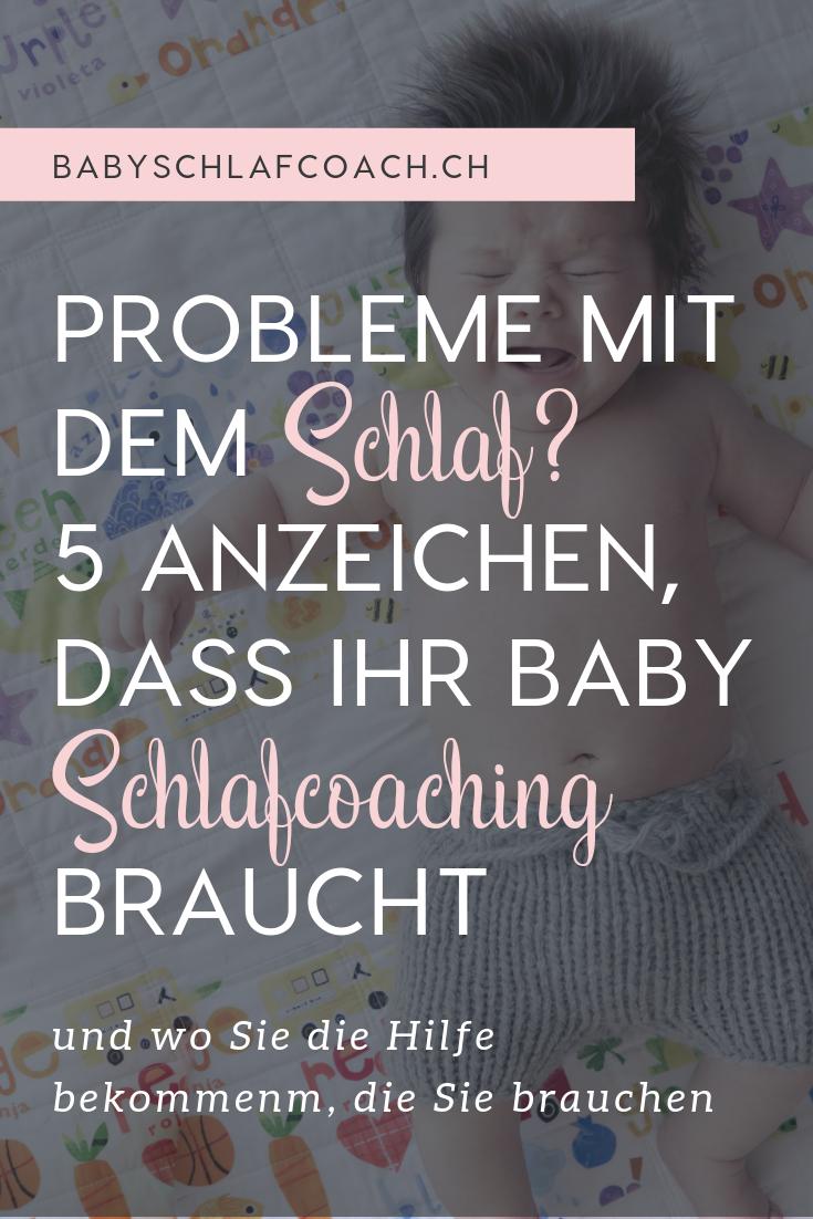 Haben Sie Probleme mit dem Schlaf Ihres Kindes? Aber ist es nur eine Wachstumsphase, Zähne, oder sollten Sie für professionelle Hilfe suchen? Wenn Sie diese 5 Anzeichen erkennen, ist es Zeit für Schlafcoaching!