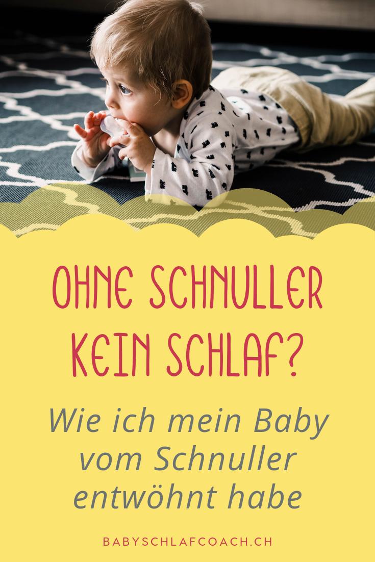 Kann Ihr Baby nur mit den Schnuller einschlafen, und Sie müssen Nachts immer wieder aucfwachen um es ihm wieder zu geben? Lesen Sie, wie ich als Schlafberaterin in nur 3 Minuten meiner Tochter beigebracht habe, ohne Schnuller einzuschlafen. #babyschlaf #babyschlaftipps #mamatipps #eltern #erziehungstipps #baby