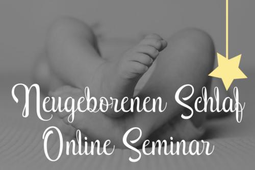 neugeborenen Schlaf online Seminar für werdende und neue Eltern